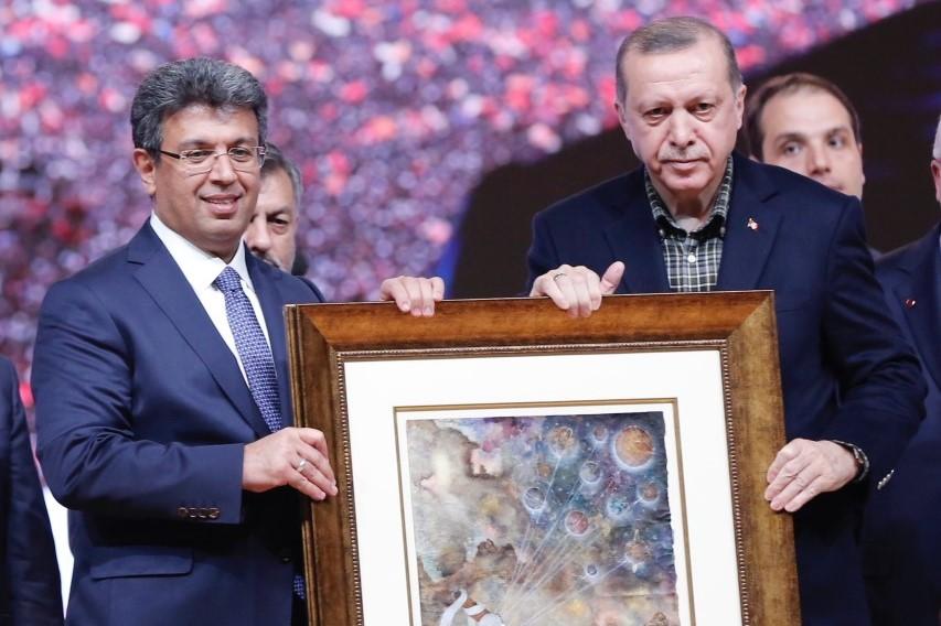 CUMHURBAŞKANI RECEP TAYYİP ERDOĞAN, KÜÇÜKÇEKMECE'DE